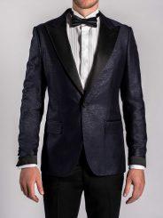 Dazzling Blue Tuxedo Jacket